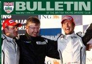 BRDC Bulletin volume 30 issue 1 - British Racing Drivers' Club