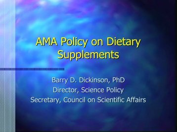 Dickinson.AMA Revised - Office of Dietary Supplements