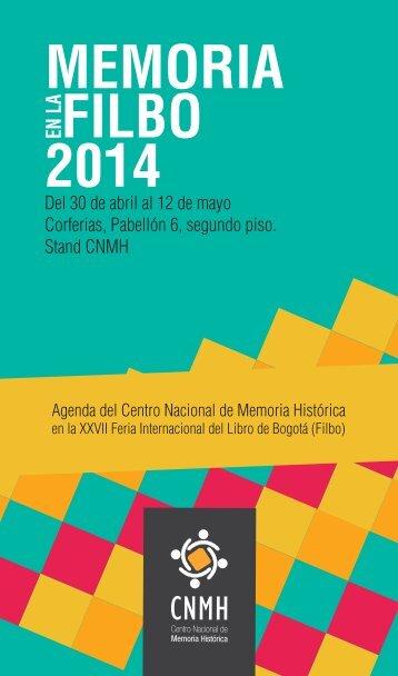 agenda-FILBO-CNMH-2014