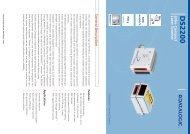 Lecteurs de code à barre fixe, laser ultra complet - Série ... - Audin