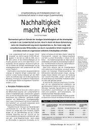 Ulrich Häpke - Nachhaltigkeit macht Arbeit