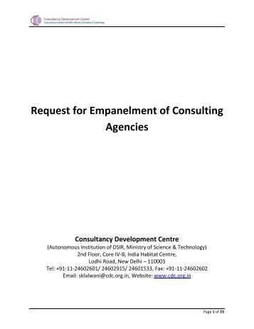 request for consult 1 Sample proposal for organizational development services this sample proposal might be a useful reference for you and your client as you both specify and 1.