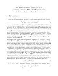 Note - Boston University Physics Department.