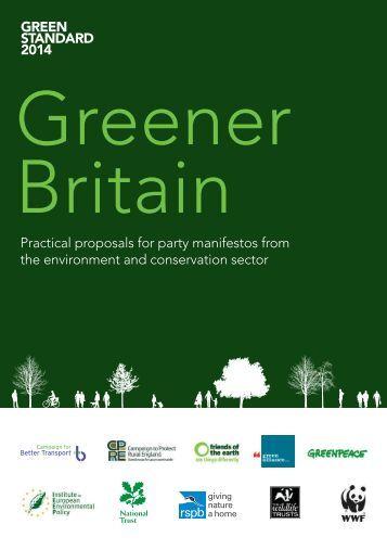Greener Britain