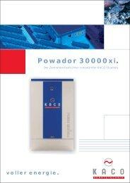 Powador 30000xi. - Dahlmann Solar GmbH NRW
