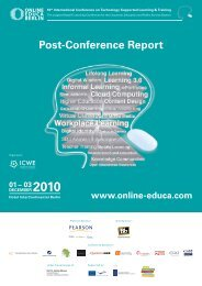 Post-Conference Report - Online Educa Berlin