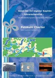' Pelzkuhl Charter - Hausboot-charter