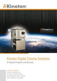 Kinoton Digital Cinema Solutions
