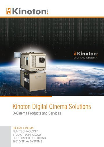 Kinoton Digital Cinema Solutions