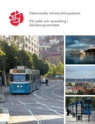 För jobb och utveckling i Göteborgsområdet - Socialdemokraterna