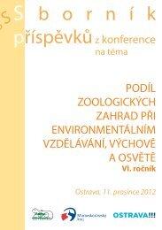Sborník 2012 ( 2,57 MB ) - Zoo Ostrava