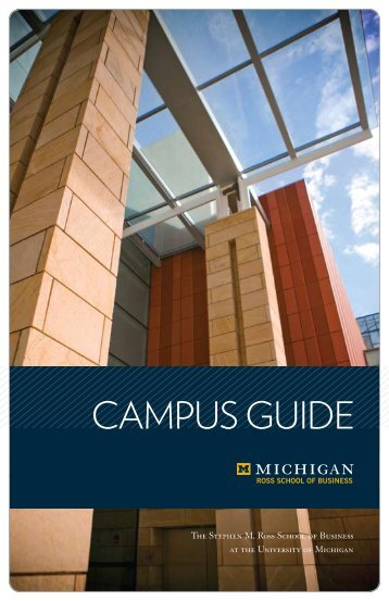 Ross School guide and directory - University of Michigan