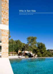 Villa in Son Vida - Architekturbüro Dr. Schmitz-Riol