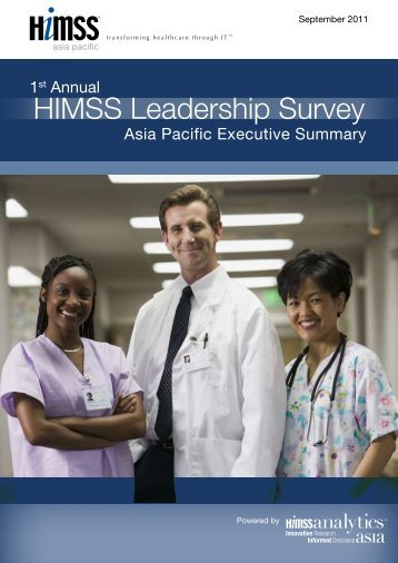 HIMSS Leadership Survey - HIMSS AsiaPac