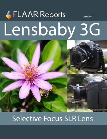 Lensbaby 3G - Digital photography camera reviews