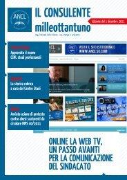 ONLINe LA web tv, uN PASSO AvANtI Per LA ... - Ancl