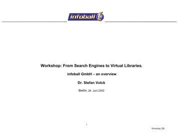 InfoBall - A Global Virtual Library - KOBV