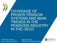 Coverage of Private Pension Systems - Fafo