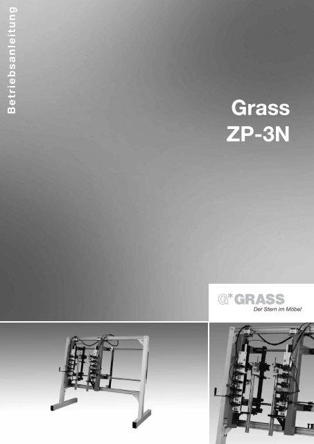 7.einstellen und umstellen der zp-2n - Grass