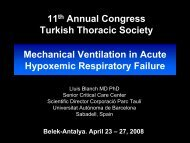 Mechanical Ventilation in Acute Hypoxemic Respiratory Failure 11th ...