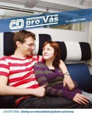 ČD pro Vás číslo 2008/07 - CZ