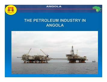 THE PETROLEUM INDUSTRY IN ANGOLA - pptfun