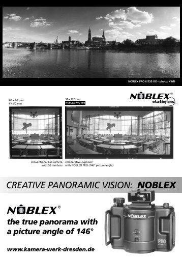 creative panoramic vision: noblex - KAMERA WERK DRESDEN GmbH