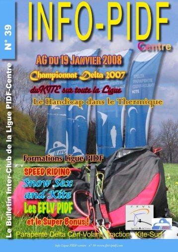 AG du 19 Janvier 2008 Les EFLV PIDF - Ligue Paris Ile de France ...