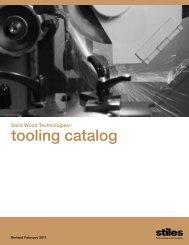 tooling catalog - Stiles Machinery