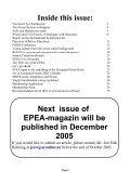EPEA - MAGAZINE - Surt - Page 3