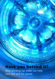 Have you bottled it? How drinking tap water can help save - Sustain