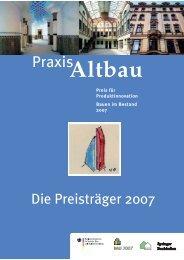 Die Preisträger - Bundesarbeitskreis Altbauerneuerung e.V.