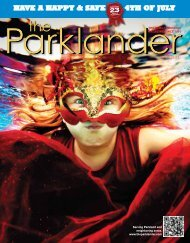 JULY - The Parklander Magazine