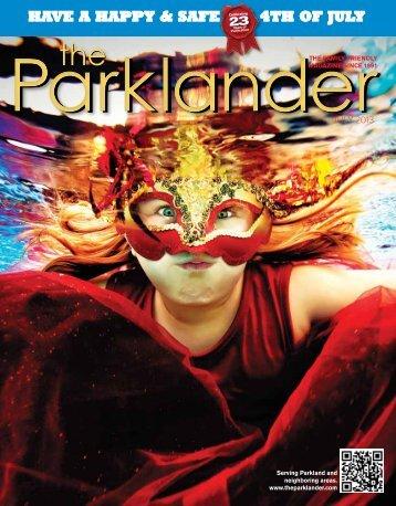 JULY - The Parklander Magazine