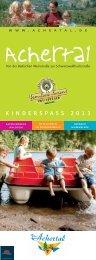Kinderprogramm Achertal 2013 (PDF)