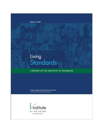 living standards in canada essay Standard of living vs quality of life standard canada places there may be people having a very high standard of life in an area yet may be.