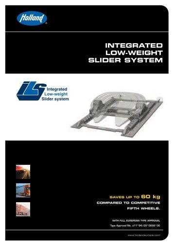 INTEGRATED LOW-WEIGHT SLIDER SYSTEM - SAF-HOLLAND
