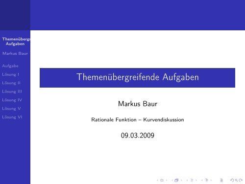 Rationale Funktionen 2 - Treminer.de