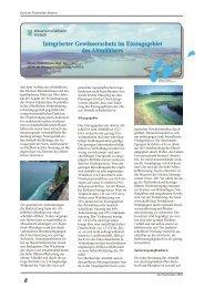 Integrierter Gewässerschutz im Einzugsgebiet des ... - Flußmeister