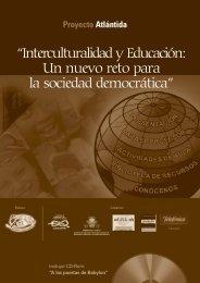 Interculturalidad y Educación - Contenidos Educativos Digitales