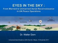 MONITORING TECHNOLOGY IN UN ... - Dr. Walter Dorn