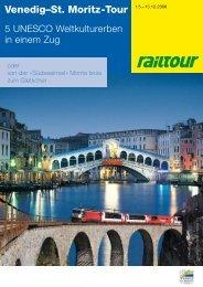 Venedig–St. Moritz-Tour - Venice - St. Moritz Tour