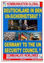 magazin zur internationalen zusammenarbeit · magazine - Global ...