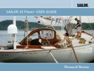 SAILOR 33 Fleet+ User Guide.pdf - GMPCS Personal ...