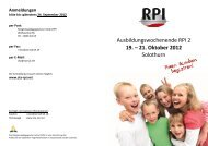 19. – 21. Oktober 2012 - Freikirche der Siebenten-Tags-Adventisten