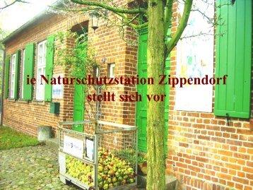 Präsentation der Naturschutzstation Zippendorf (PDF)