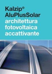Scarica la brochure tecnico informativa Kalzip ... - Infobuildenergia.it
