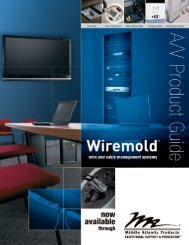 Wiremold A/V Product Guide - Middle Atlantic