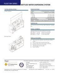 bottled water dispensing system - Nuova Simonelli
