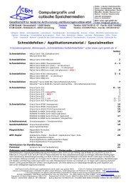 Faxbestellung - Computergrafik und optische Speichermedien